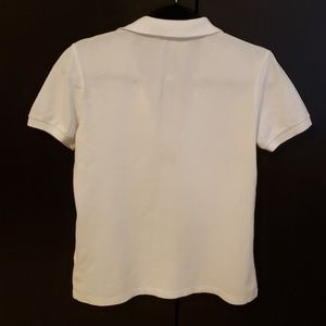 Burberry Tops - BURBERRY Women's Pique Shirt Top in White